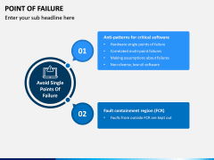 Point of Failure PPT Slide 5