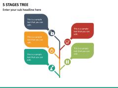 5 Stages Tree PPT Slide 2