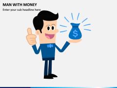 Man with Money PPT Slide 2