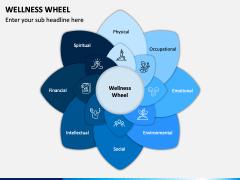Wellness Wheel PPT Slide 1