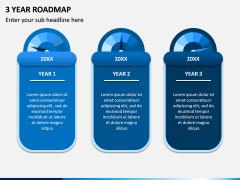 3 Year Roadmap PPT Slide 4