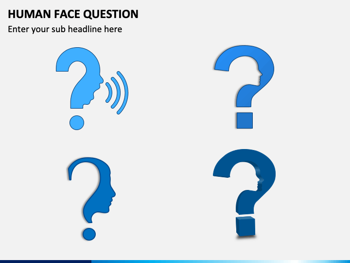 Human Face Question PPT Slide 1