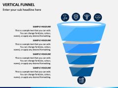 Vertical Funnel PPT Slide 10