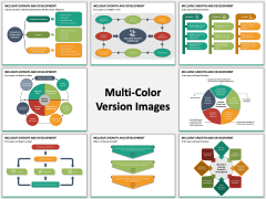 Inclusive Growth and Development Multicolor Combined