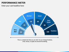Performance Meter PPT Slide 2