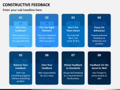 Constructive Feedback PPT Slide 9