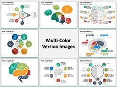 Brain Infographics PPT Slide MC Combined
