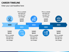 Career Timeline PPT Slide 5