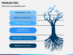 Problem Tree PPT Slide 1