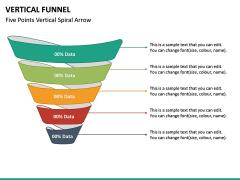 Vertical Funnel PPT Slide 26