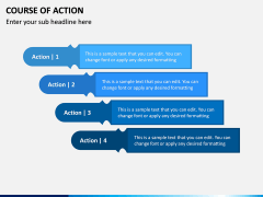 Course of Action PPT Slide 3