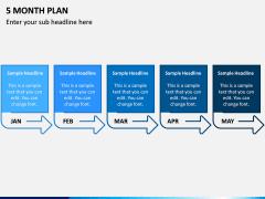 5 Month Plan PPT Slide 1
