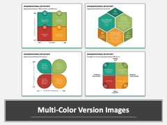 Organizational Efficiency PPT Multicolor Combined