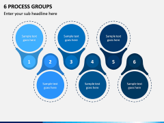 6 Process Groups PPT Slide 1