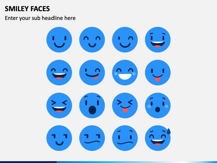 Smiley Faces PPT Slide 1