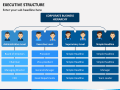 Executive Structure PPT Slide 3