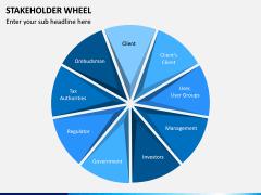 Stakeholder Wheel PPT Slide 5