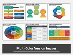 Business Development Framework Multicolor Combined