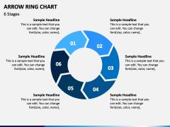 Arrow Ring Chart PPT Slide 4