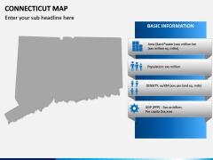 Connecticut Map PPT Slide 4