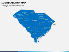 South Carolina Map PPT Slide 2