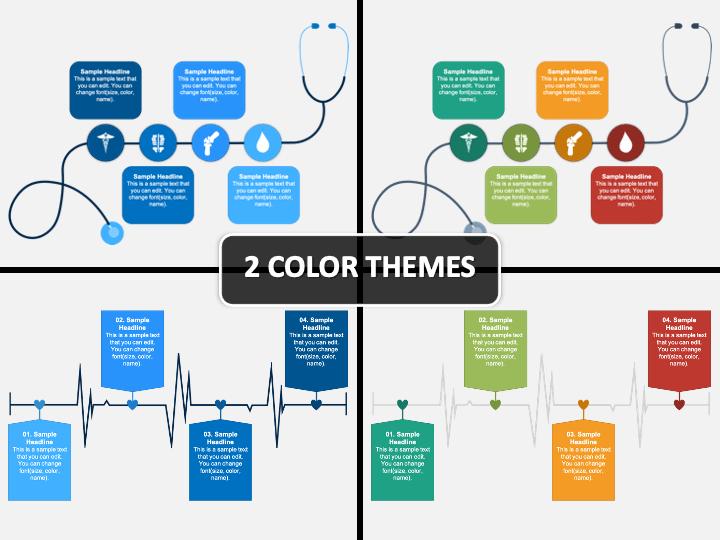 Medical Timeline PPT Cover Slide