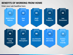 Benefits of Working From Home PPT Slide 2