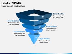 Folded Pyramid PPT Slide 5