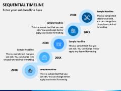 Sequential Timeline PPT Slide 3
