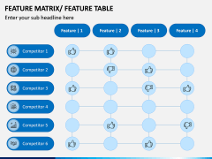 Features Matrix PPT Slide 2
