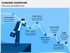 Economic Downturn PPT Slide 1
