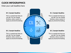 Clock Infographics PPT Slide 4
