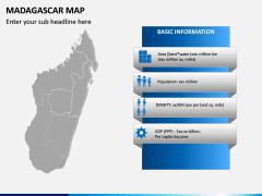 Madagascar Map PPT Slide 4
