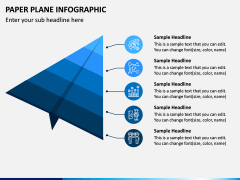 Paper Plane Infographic PPT Slide 4