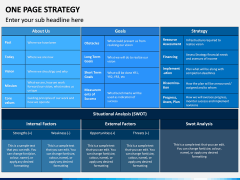 One Page Strategy PPT Slide 8