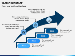 Yearly Roadmap PPT Slide 1