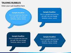 Talking Bubble PPT Slide 1
