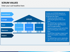 SCRUM Values PPT Slide 5