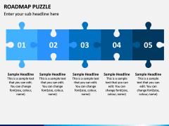 Roadmap Puzzle PPT Slide 4