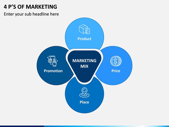 4 P's of Marketing PPT Slide 1
