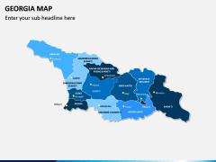 Georgia Map PPT Slide 2