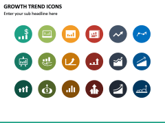 Growth Trend Icons PPT Slide 6