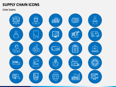 Supply Chain Icons PPT Slide 4