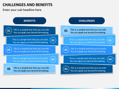 Challenges and Benefits PPT Slide 7