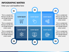 Infographic Matrix PPT Slide 13