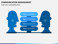 Communication Management PPT Slide 1