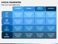 Logical Framework PPT Slide 1