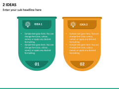 2 Ideas PPT Slide 2