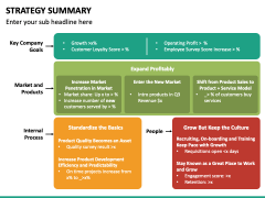 Strategy Summary PPT Slide 2