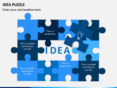 Idea Puzzle PPT Slide 9